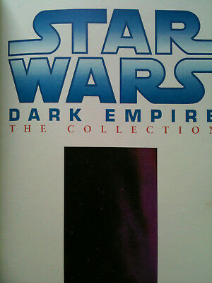 STAR WARS DARK EMPIRE: THE COLLECTION graphic novel 2004