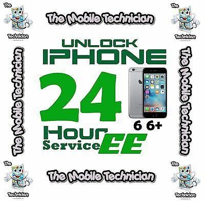 Factory unlocking service for EE iPhone 5 5C EE