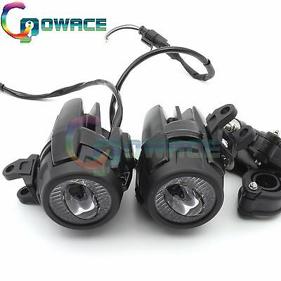 40W LED Auxiliary Fog Light Assemblie Safety Driving Lamp For BMW R1200GS/F800GS