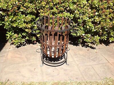 Large Fire Pit Stand