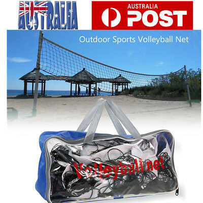 9.5M x 1M  Official Sized Volleyball Net Replacement Standard with Carry Bag