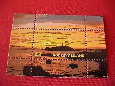 GB British Local Godrevy Cornwall Lighthouse Miniature Sheet MNH Perf