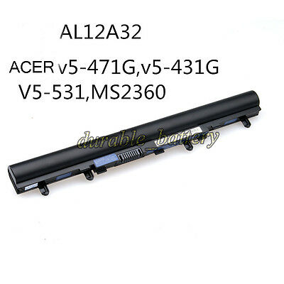New OEM Battery AL12A32 For ACER Aspire V5-471G V5-431G E1 Series MS2360