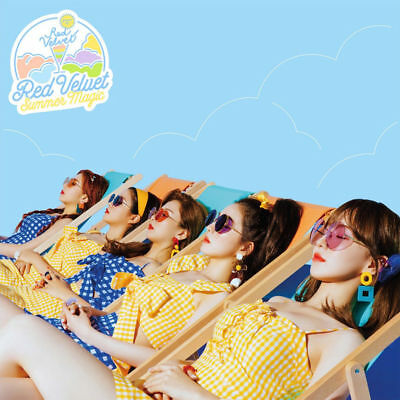 RED VELVET [SUMMER MAGIC] Album NORMAL CD+Photo Book+Card+GIFT CARD K-POP SEALED