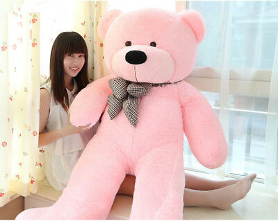 60CM Huge Giant Plush Teddy Bear Big Stuffed Animal Soft Cotton Toy Gift Pink