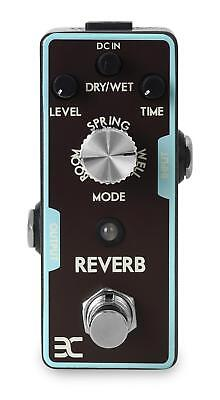 Pedale Effetto Chiatarra Elettrica Riverbo Delay Echo Footswitch Jack 6,35mm Set