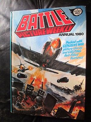 Battle Picture Weekly Annual 1980 Hb