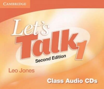 Let's Talk Level 1 Class Audio CDs (3): Level 1 [Audio] by Leo Jones.