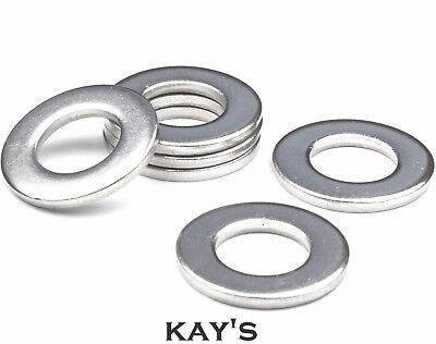 Imperial Flat Thick Washers To Fit Unf, Unc, Bsf, Bsw, Bscy Bolts & Screws Zinc