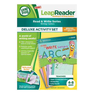 LeapFrog LeapReader Book: Learn to Write with Mr Pencil - NEW