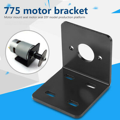 High Hardness Aluminum Metal Right Angle Bracket for NO.775 Motor Fixed Base GL