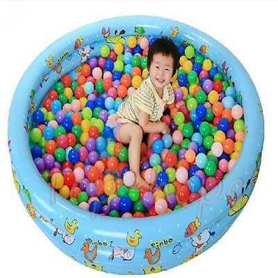 10 Pcs Colorful Children Ocean Ball Pit Pool Game Play Tent Outdoor Kid Hut Tent