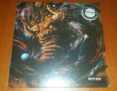Monster Magnet Last Patrol Orange Blue White Splatter 2Lp Vinyl Limited 300