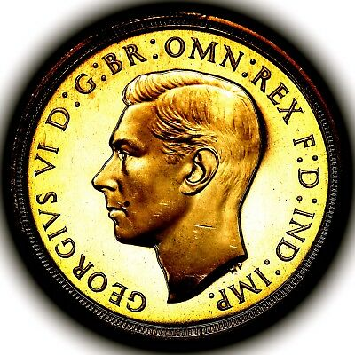 1937 George VI Gold Proof Two Pounds Double Sovereign £2 PCGS PR65 CAM