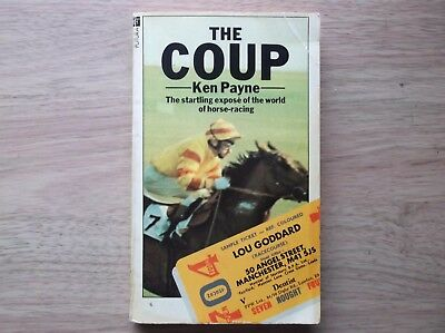 """""""the Coup"""" By Ken Payne 1978 1St Edition In V/g Condition"""