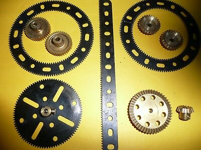 Meccano Gear Rings And Other Gears