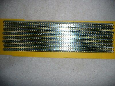 "MECCANO UNUSED 24 1/2"" ANGLE GIRDERS IN ZINC x 8"