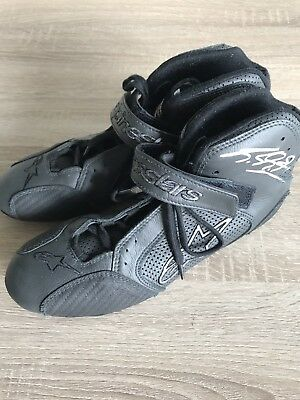 Michael Schumacher Shoes Used And Signed