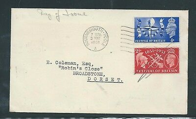 King George VI Festival of Britain First Day Cover 03 May 1951