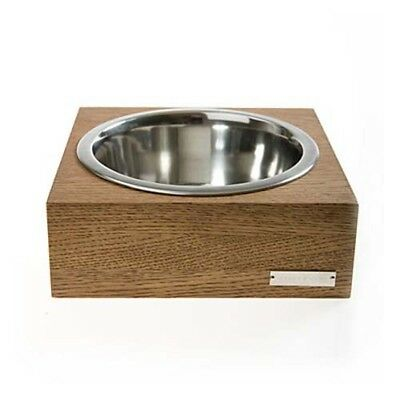 Dog Handmade Anti-Skid Washable Feeder Eating Stainless Handcrafted Bowl