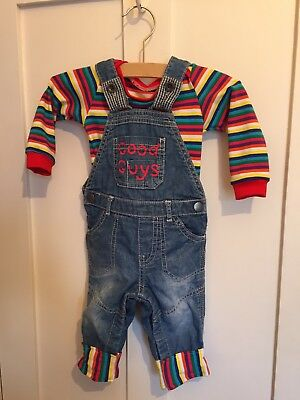 Baby Chucky Costume, 3-6m, Handmade, Halloween Fancy Dress
