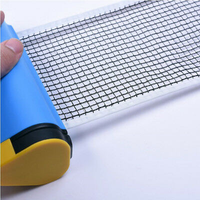 Retractable Ping Pong Net Replacement Portable Table Tennis Net