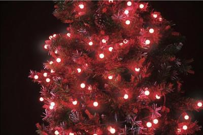 100 200 remote control led christmas lights red berries