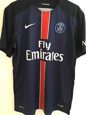 Psg Home Shirt 15/16 Medium