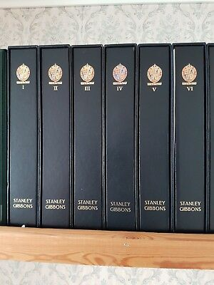 GREAT BRITAIN STAMP COLLECTION (Part 1) in Lux. leather albums ALL MNH £12000+