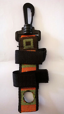 New Xink/gink Fly Floatant/sinkant Bottle Holder For Fly Fishing + Quick Clip