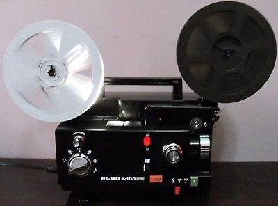 ELMO K-100 SM 8mm Adjustable Speed Movie Projector Projector ~SERVICED~