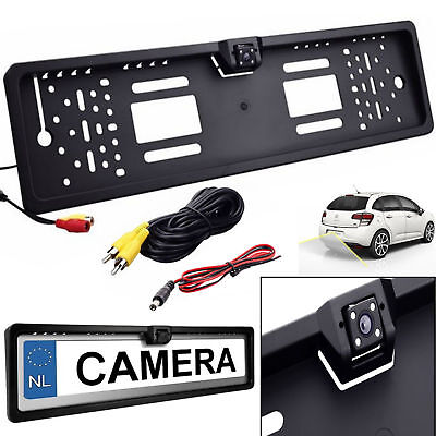 170° Car Night Vision Rear View Reversing Parking Backup HD IR CCD Camera UK