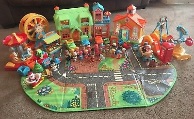 Large Happyland Bundle with storage box/playmat and sounds