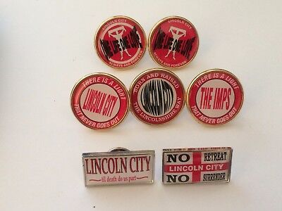 Lincoln City 7 badges