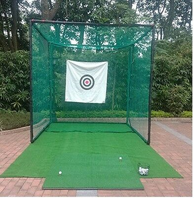 Golf Cage Net/Cricket Net 3m X 3m X 3m Steel Framed . Superior Quality & Value!$