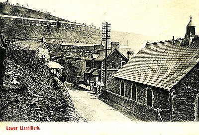 MONMOUTHSHIRE - 1905 Postcard of Lower Llanhilleth