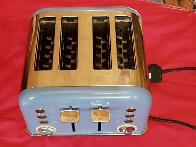 Baby Blue toaster 4 piece