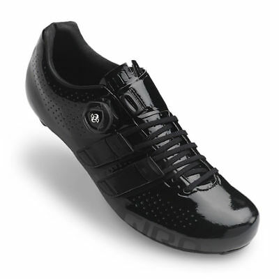 Giro Factor Techlace Road Shoes - EU 42 - BLACK