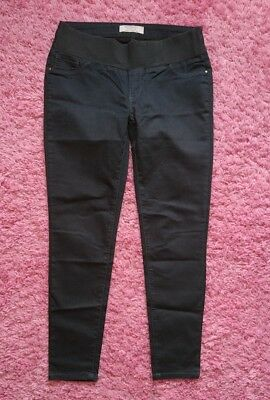 Womens size 12 DOROTHY PERKINS maternity jeans under BUMP skinny leg IMMACULATE