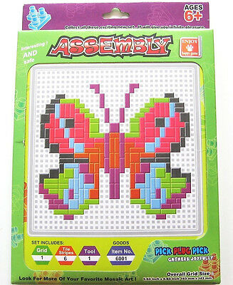 Steck Mosaik Schmetterling Gather Joyfully NEU OVP Pick Plug Set ab 6J. kinder