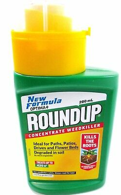 Roundup Optima+ Liquid Concentrate Weed Killer Glysophate 280ml 116970