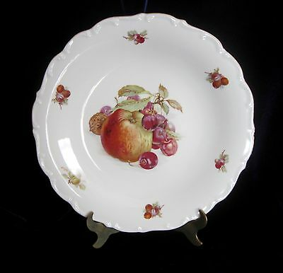 Schumann Arzberg Bavaria Large Round Serving Plate - 11.5 in. - Fruit - Germany