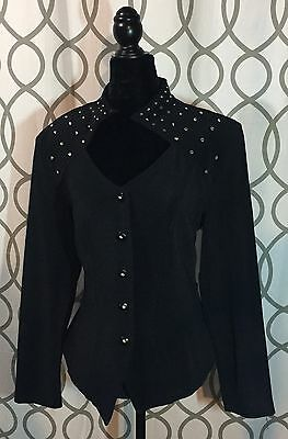 Cartise International Women's Black Blazer- Size 16- BRAND NEW WITH TAGS $180.00