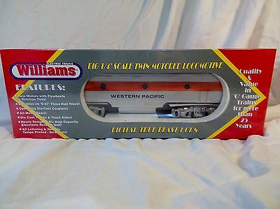 NEW Bachmann Williams Western Pacific F7-125B Locomotive (Dummy) WP CAB #809