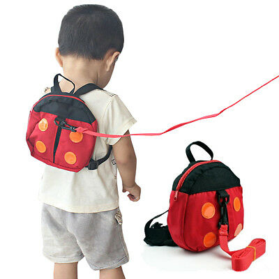 2in1 Ladybird Shaped Keeper Anti Lost Safety Harness Baby Backpack Walk Harness