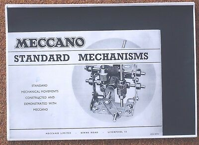 Meccano Standard Mechanisms Booklet