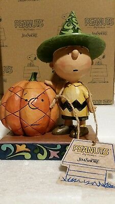 """Jim Shore, Peanuts by Schulz, """"It's Halloween Charlie Brown"""""""