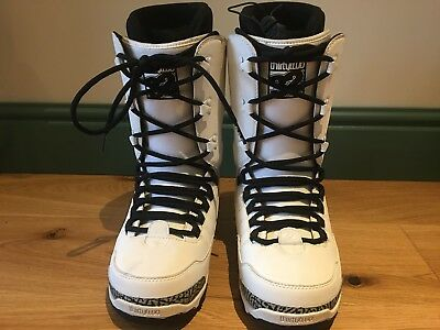 [Clearance] Past Season ThirtyTwo 32 Prion Mens Snowboard Boots UK 8 White/Black