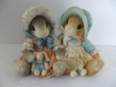 """My Blushing Bunnies 1998 """"Blessings Multiply when Shared"""""""