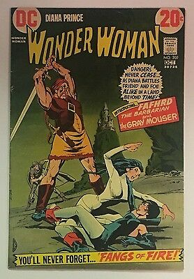 Dc Wonder Woman 202 (1972) - Catwoman, Fafhrd & The Gray Mouser Vg